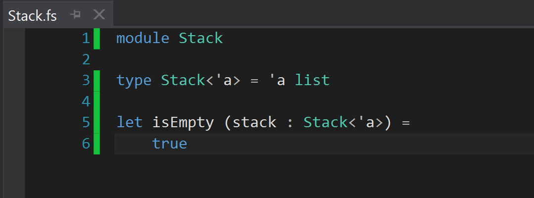 default isEmpty method